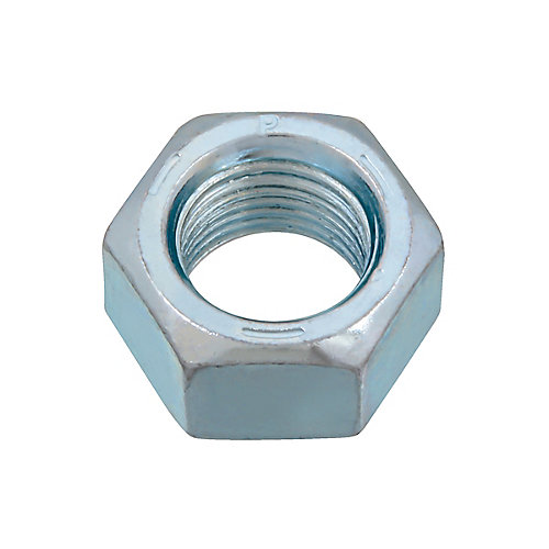 1/2-inch-20 Finished Hex Nut - Zinc Plated - Grade 5 - UNF