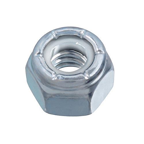 1/4-inch-20 Nylon Insert Stop Nut - Pozi-Lok - Zinc Plated - UNC