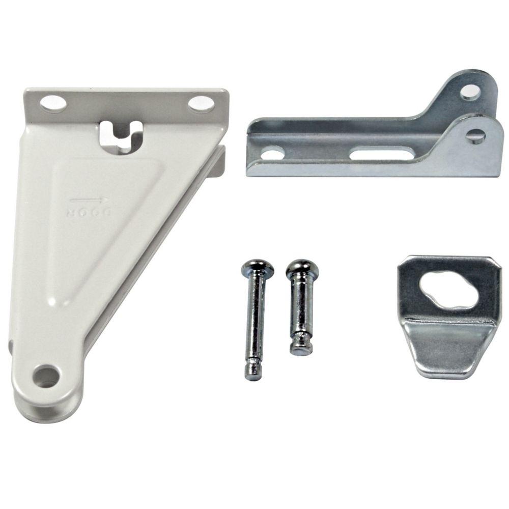 Ideal security white storm door closer repair kit the for Screen door repair home depot