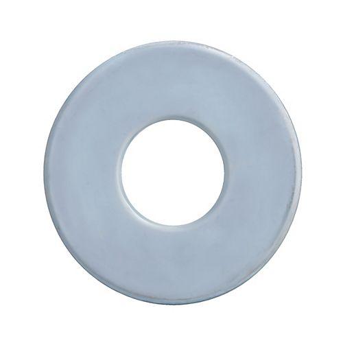 Paulin Rondelles en acier lisse de 1 pouce - plaquées zinc