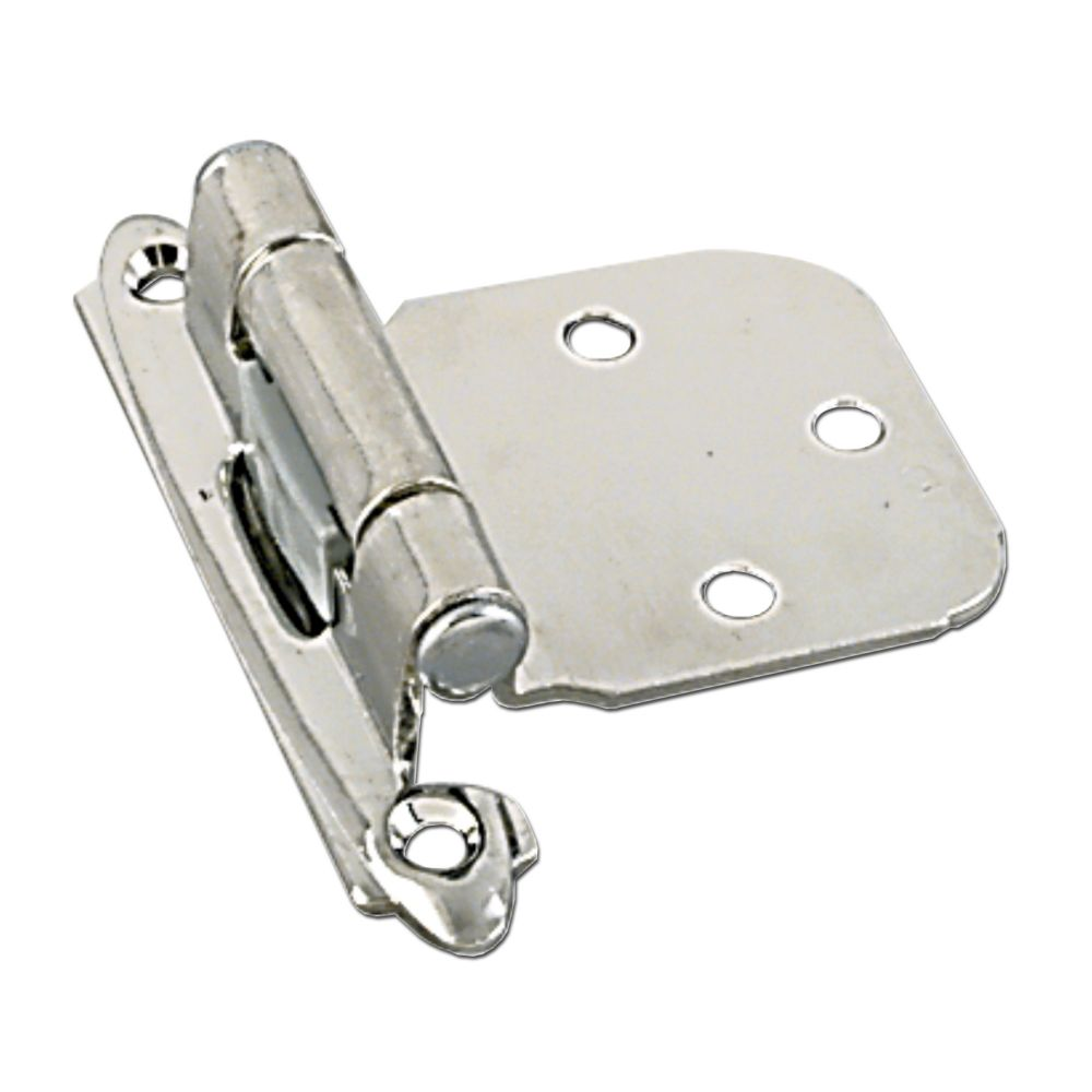 Self closing hinge - brushed nickel
