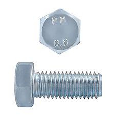 M12x30 Metric Hex Bolt 8.8 Unc