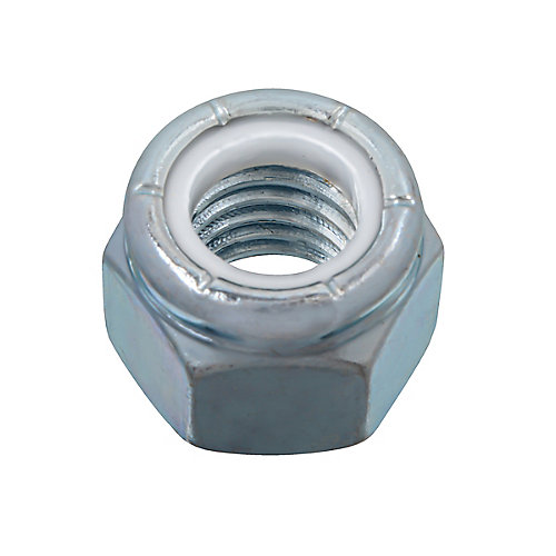 1/2-inch-13 Nylon Insert Stop Nut - Pozi-Lok - Zinc Plated - UNC