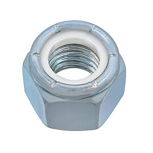 5/8-inch-11 Nylon Insert Stop Nut - Pozi-Lok - Zinc Plated - UNC