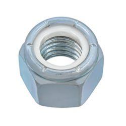 Paulin 5/8-inch-11 Nylon Insert Stop Nut - Pozi-Lok - Zinc Plated - UNC