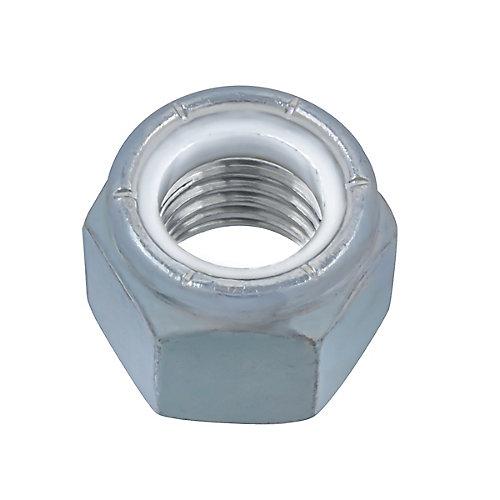 3/4-inch-10 Nylon Insert Stop Nut - Pozi-Lok - Zinc Plated - UNC