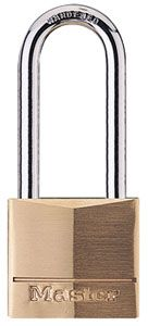 "40mm Brass Padlock with 2"" Shackle"