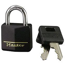Master Lock Cadenas recouvert de laiton 30 mm