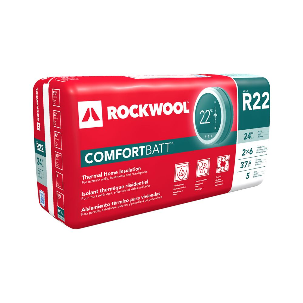 Comfortbatt R22 For 2x6 Studs 24 In. On Centre