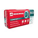 Rockwool comfortbatt r22 24 inch o c for 2x6 wood studs for Roxul comfortbatt pricing
