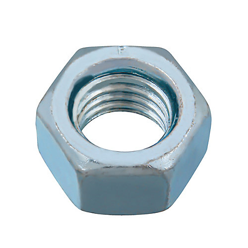 5/8-inch -11 Finished Hex Nut - Zinc Plated - Grade 2 - UNC
