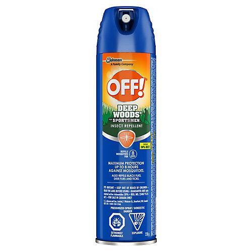 Insectifuge OFF! Régions sauvages pour sportif en aérosol