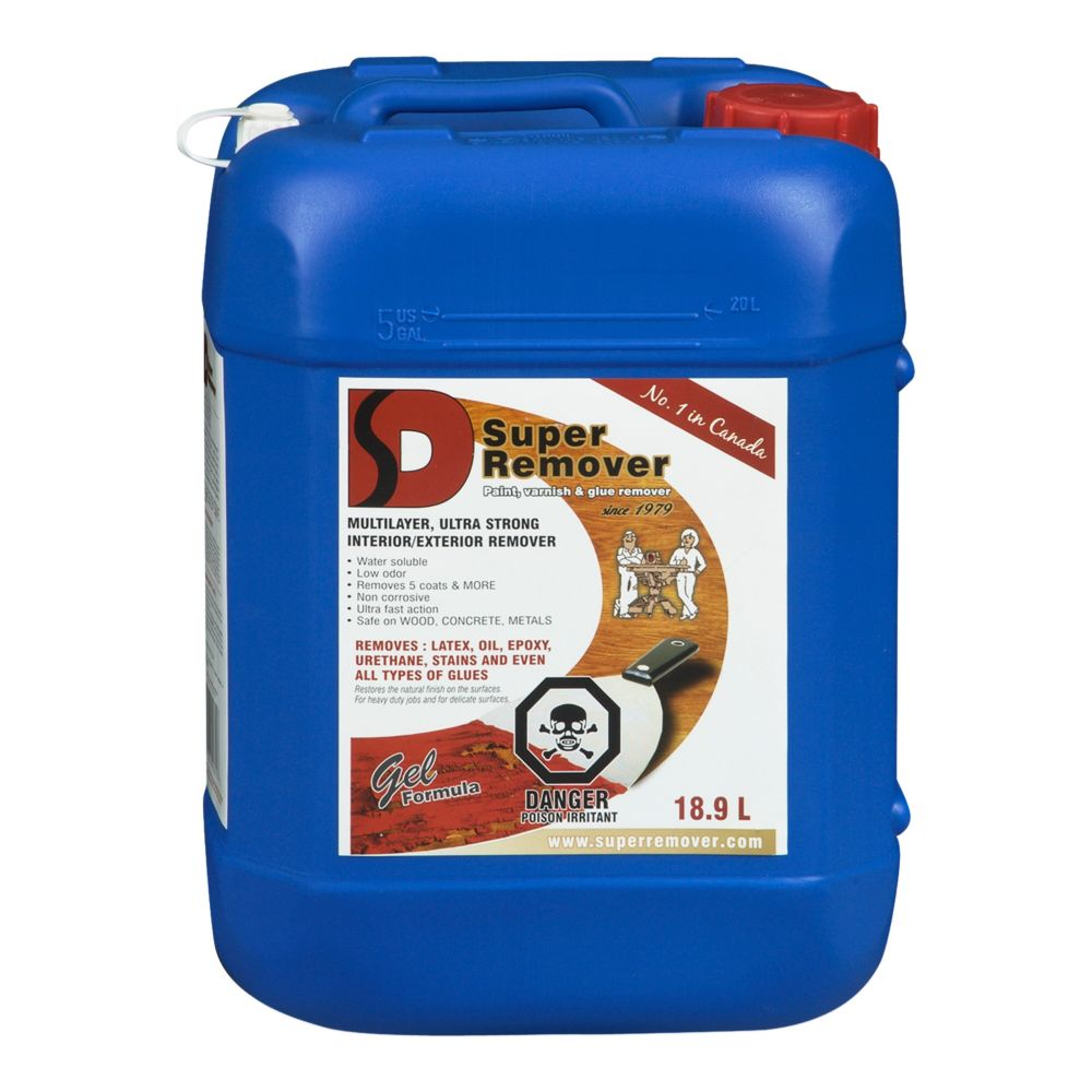 Paint Varnish And Glue Remover - 18.9 Litre