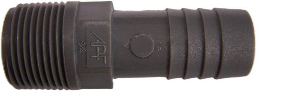 Poly Male Adapter - 3/4 Inch Mpt X 3/4 Inch Insert
