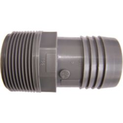Pro-Connect Poly Male Adapter - 1 1/2 Inch Mpt X 1 1/2 Inch Insert