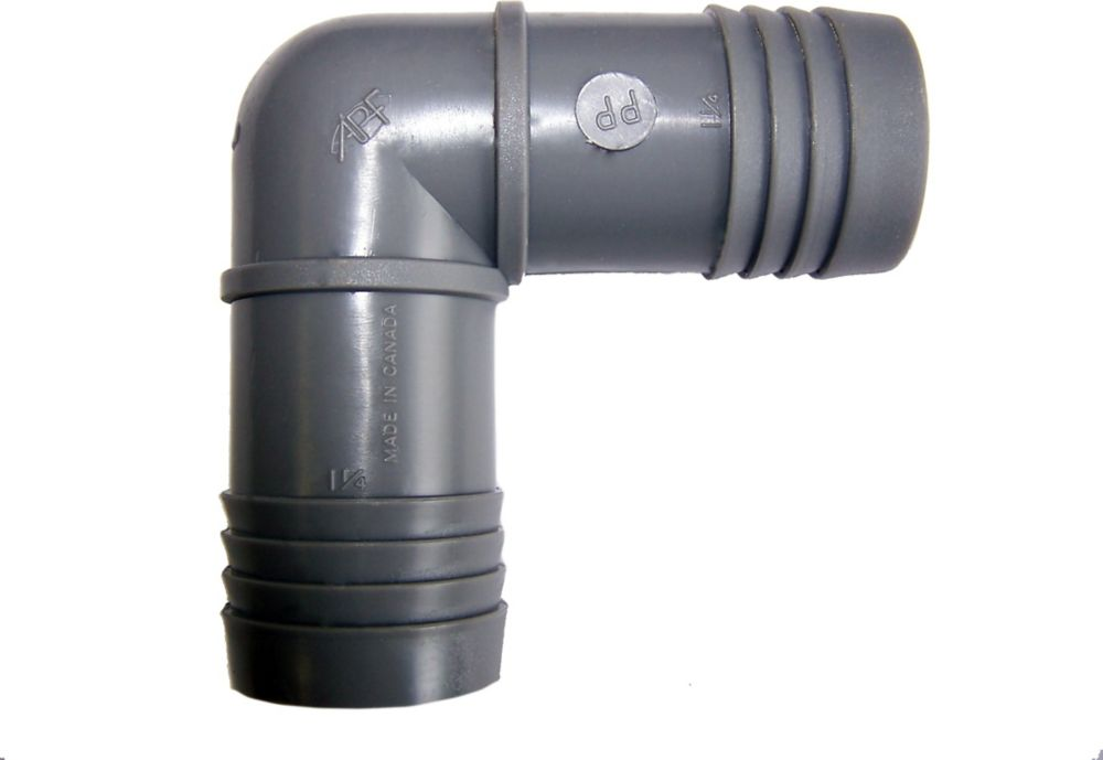 Poly Insert Elbow - 1 1/4 Inch