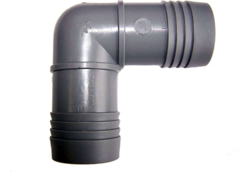 Poly Insert Elbow - 1 1/2 Inch