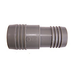 Pro-Connect Poly Reducing Coupling - 1 1/2 Inch Insert X 1 1/4 Inch Reducing Insert