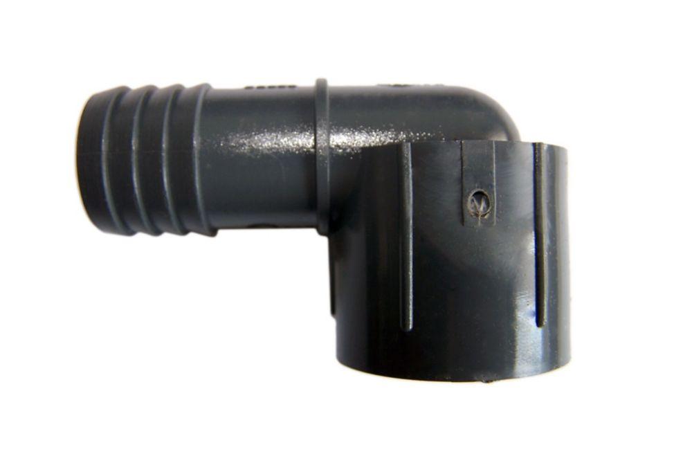 Coude Femelle Pvc - 1/2 Pouce Ins X 1/2 Pouce Fpt