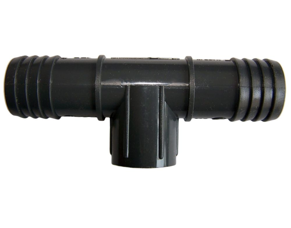 Pvc Female Combination Reducing Tee  - 1 Inch Ins X 1 Inch Ins X 1/2 Inch Fpt