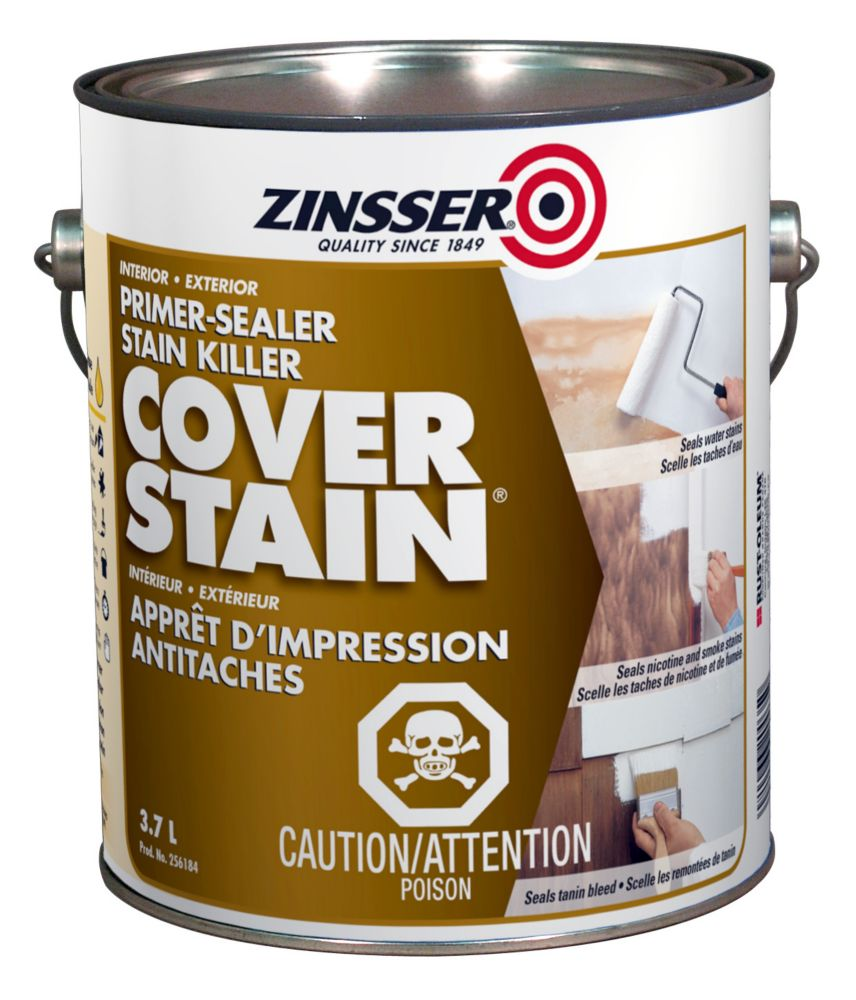 Zinsser Zinsser Cover Stain The Home Depot Canada