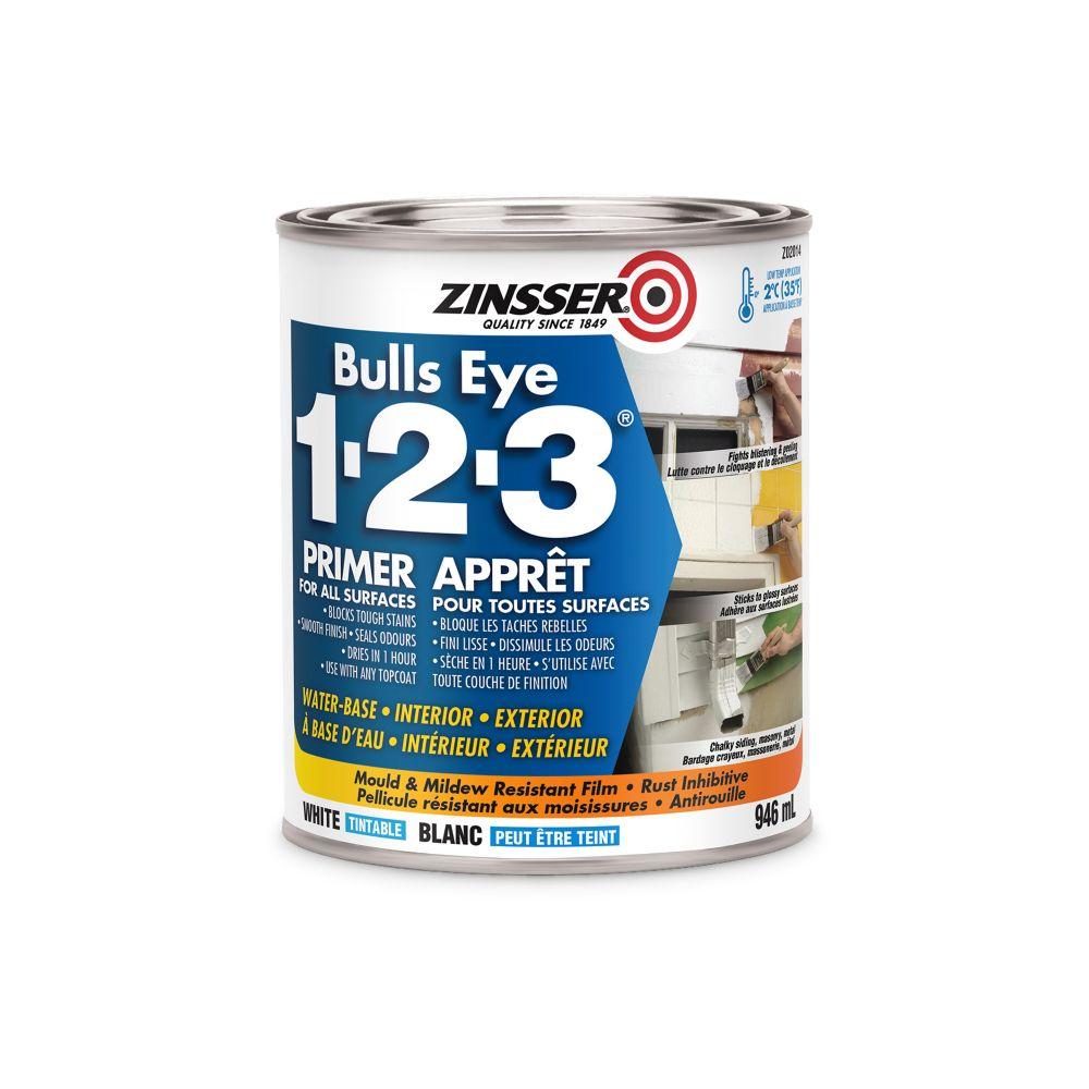 Bulls Eye 1-2-3 - À Base DEau - Scellant Et Apprêt