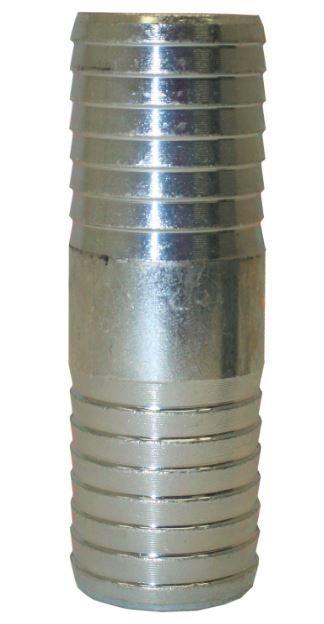 Galvanized Insert Coupling - 1 1/4 Inch