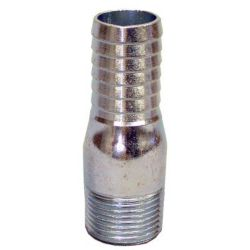 Pro-Connect Galvanized Insert Adapter - 1/2 Inch
