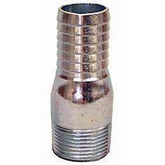 Galvanized Insert Adapter - 1 1/4 Inch