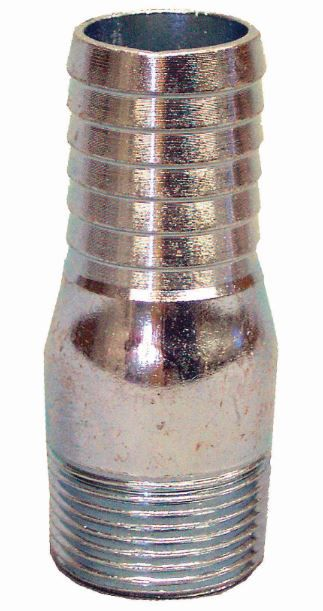 Pro-Connect Galvanized Insert Adapter - 1 1/4 Inch