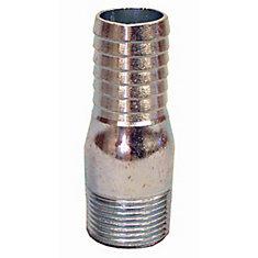 Galvanized Insert Adapter - 1 1/2 Inch