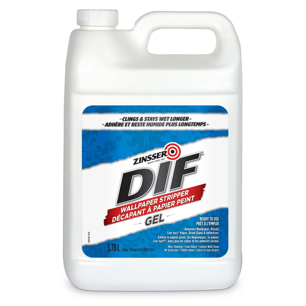 Dif Wallpaper Stripper Ready To Use Gel  3.78L