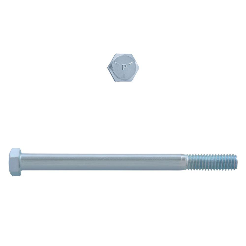 3/8x5 Boulons Hex Classe 5 Zinc Plaqué Unc