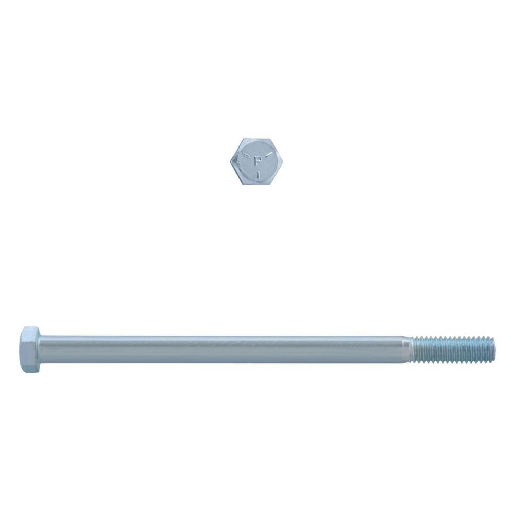 3/8x6 Boulons Hex Classe 5 Zinc Plaqué Unc