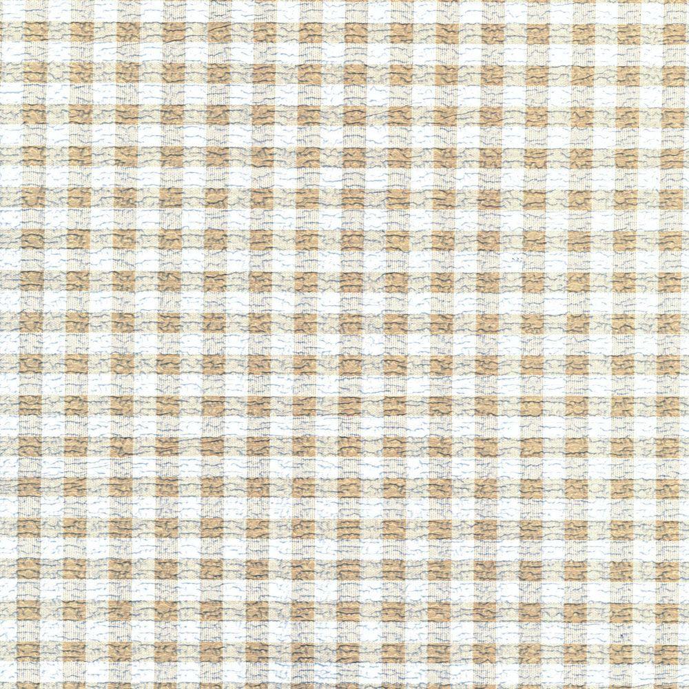 Con-Tact Print Grip Liner - Khaki Plaid - 48 Inches x 18 Inches