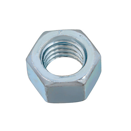 1/2-inch-13 Finished Hex Nut - Zinc Plated - Grade 5 - UNC