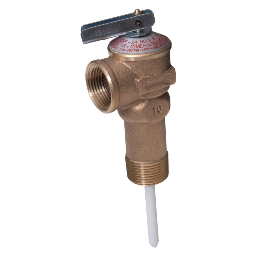 3/4 Inch. T P Relief Valve Extended Shank