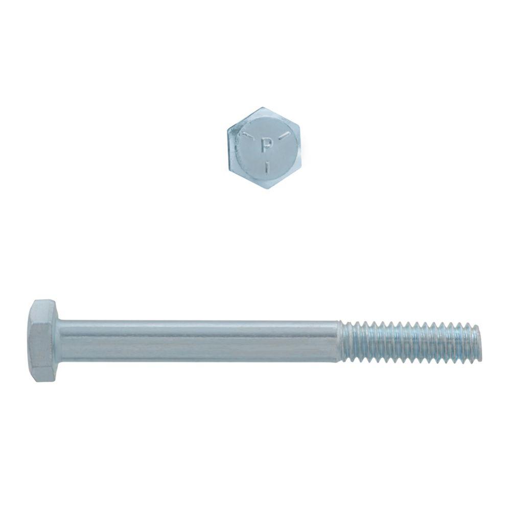 1/4x2-1/2 Hex Hd Capscrew GR5 Unc