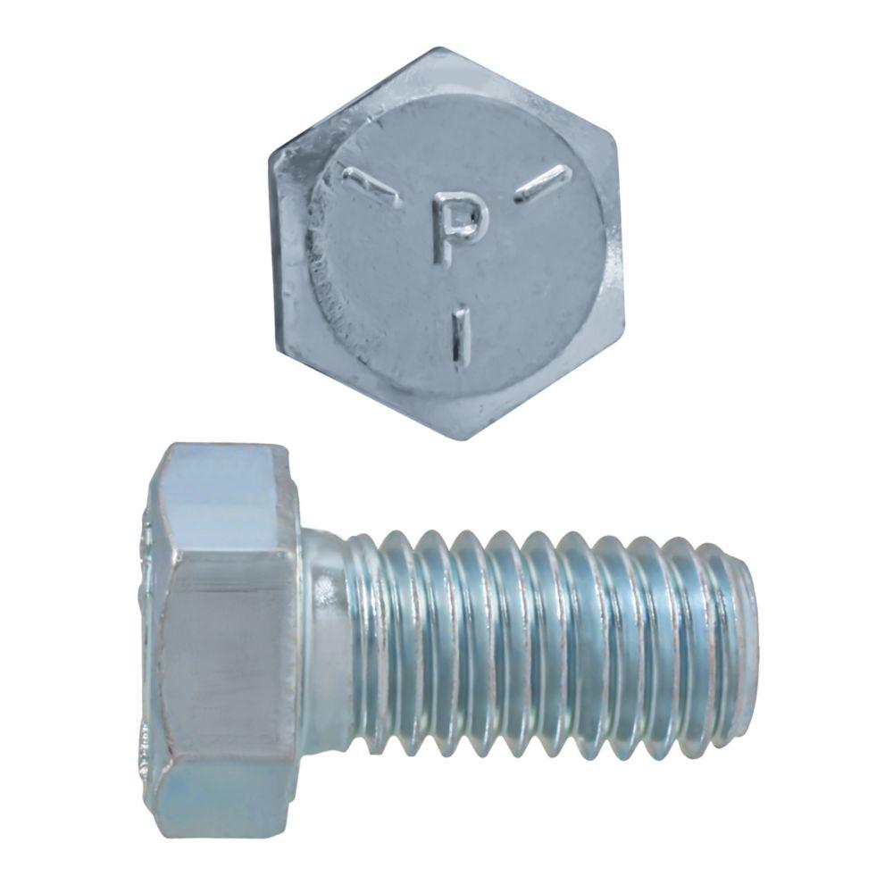 1/2x1 Boulons Hex Classe 5 Zinc Plaqué Unc