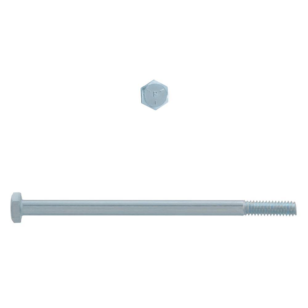 1/4x4-1/2 Boulons Hex Classe 5 Zinc Plaqué Unc