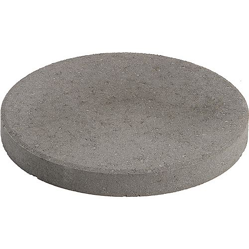 Oldcastle Patio Round 12 Inch Gray