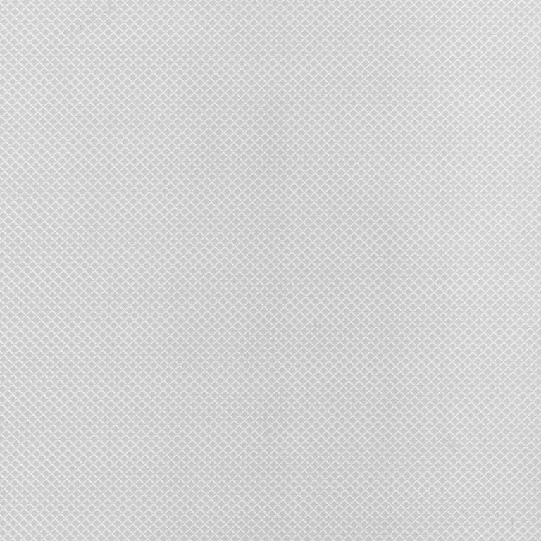 Simple Elegance Non Adhesive Shelf Liner - White Diamonds - 60 Inches x 20 Inches