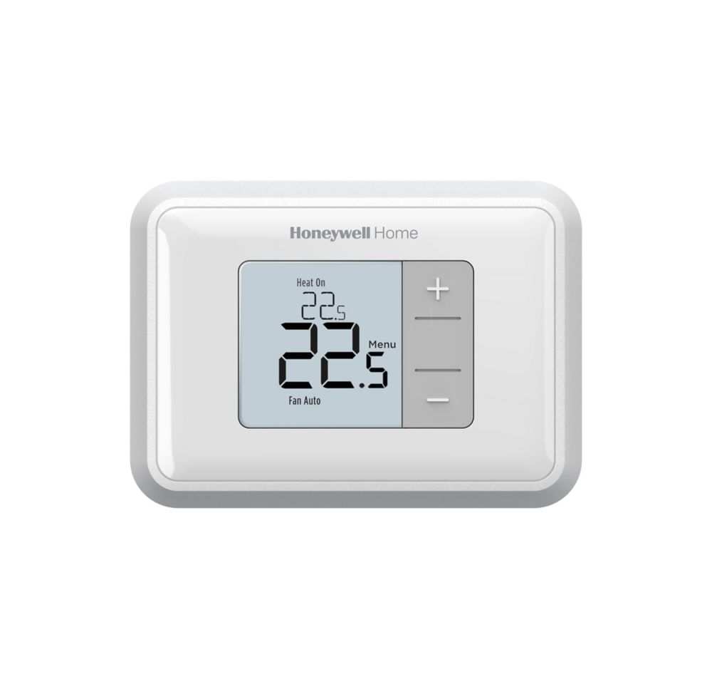 honeywell thermostat non programmable de chauffage refroidissement num rique home depot canada. Black Bedroom Furniture Sets. Home Design Ideas