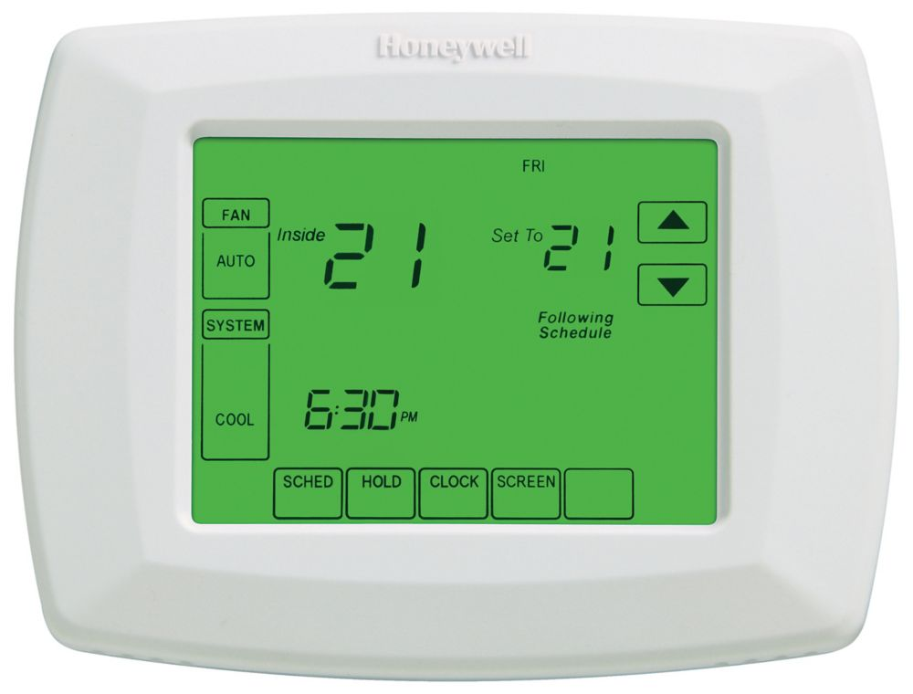 7-Day Programmable Heat/Cool Touchscreen Thermostat