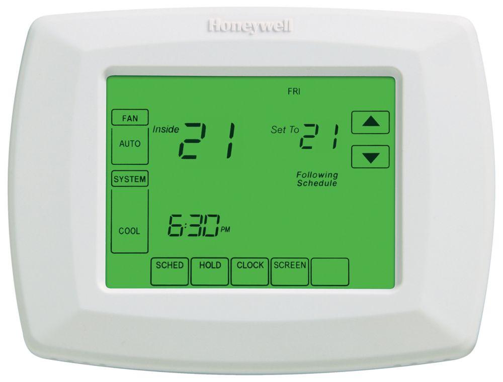 Thermostat programmable sur 7 jours avec écran tactile