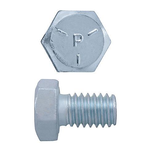 5/16-inch x 1/2-inch Hex Head Cap Screw - Zinc Plated - Grade 5 - UNC