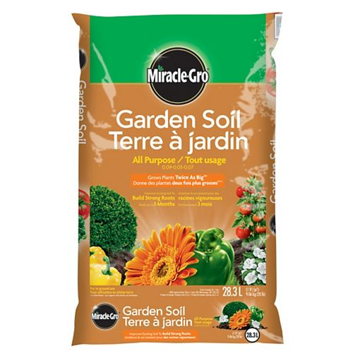 Miracle-Gro Garden Soil All Purpose 0.09-0.05-0.07 - 28.3L