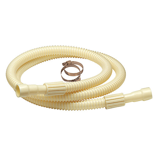 Dishwasher Drain Hose Corrugated Plastic 6ft