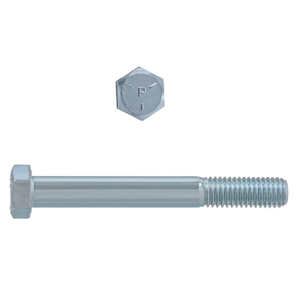 1/2x4 Boulons Hex Classe 5 Zinc Plaqué Unc