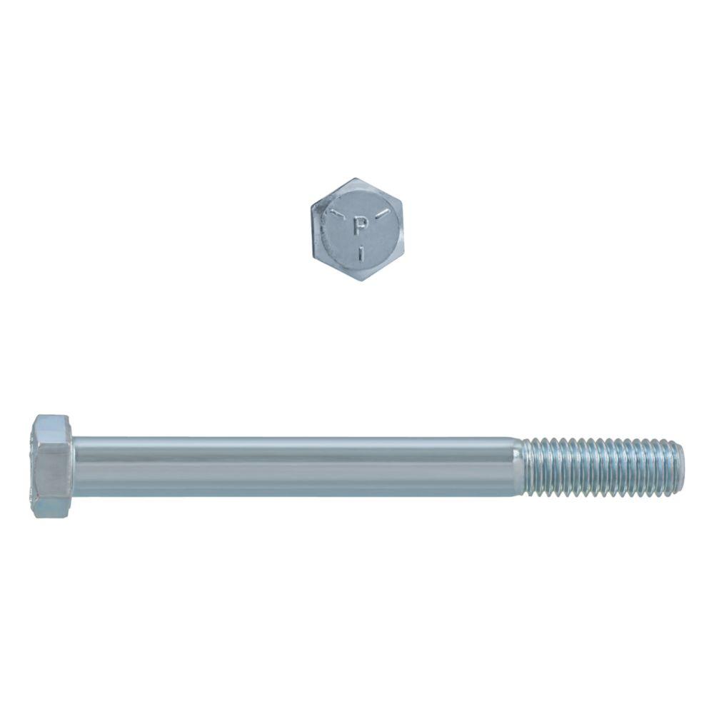 1/2x5 Boulons Hex Classe 5 Zinc Plaqué Unc